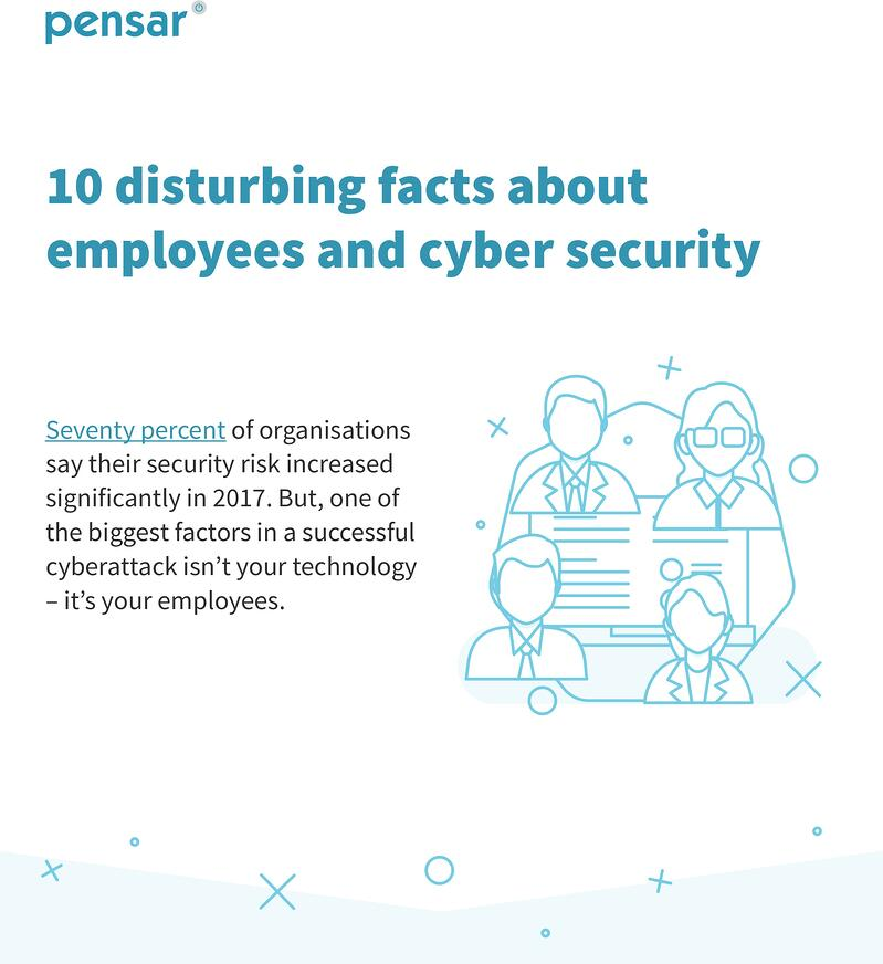 10 disturbing facts about employees and cyber security header