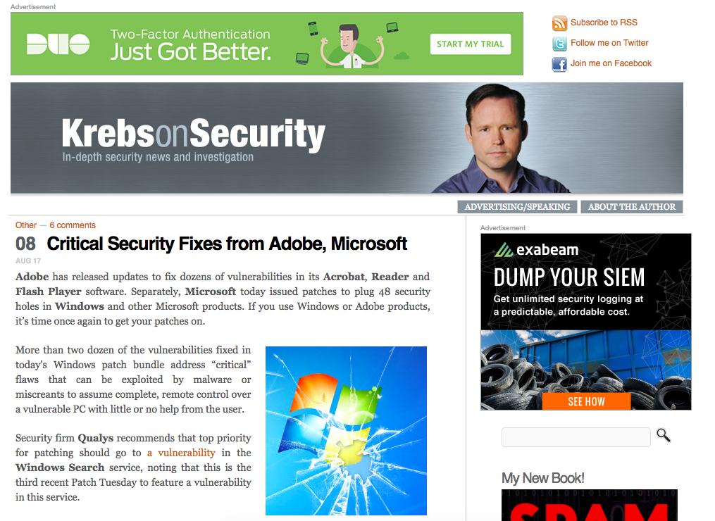 IT security news Krebs.png