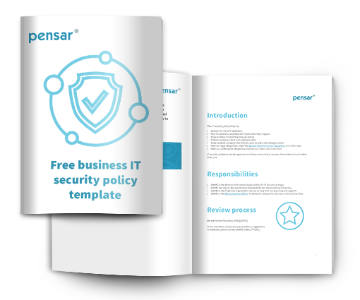 It_security_policy_template_cover