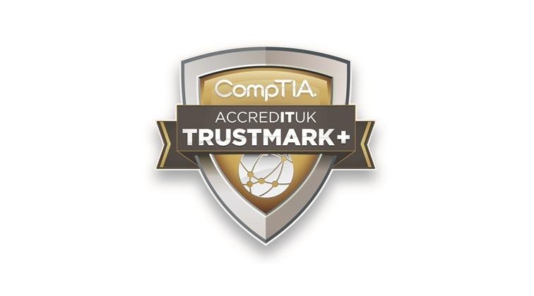 CompTIA Accredit UK Trustmark+
