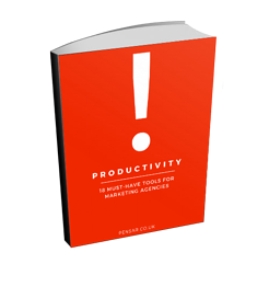 Cover image of Pensar's guide to productivity for marketing agencies