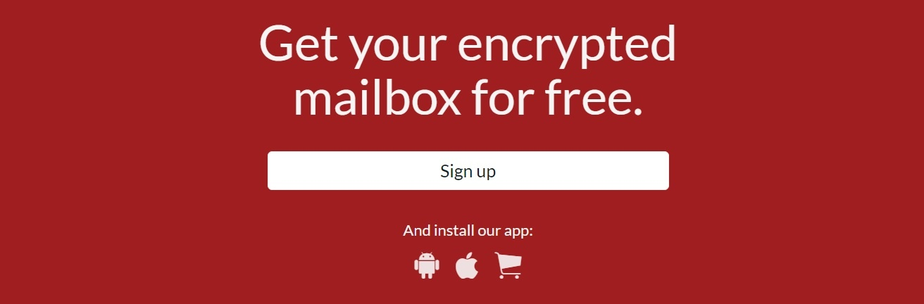 encrypted email services - tutanota